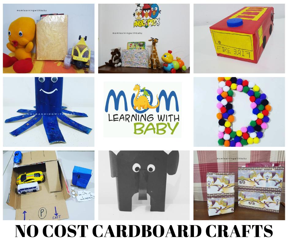 7 NO Cost Cardboard Crafts
