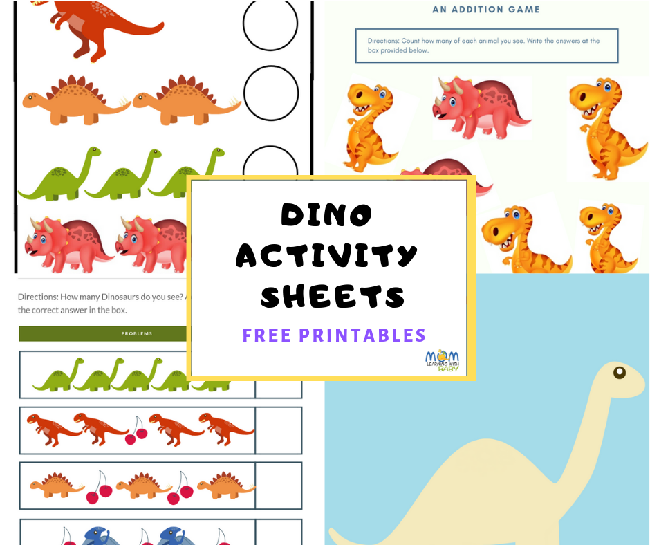 Activity Sheets for Preschoolers-Free Printables