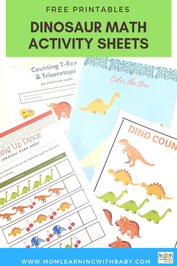 Dinosaur Activity Sheets - Free Printables