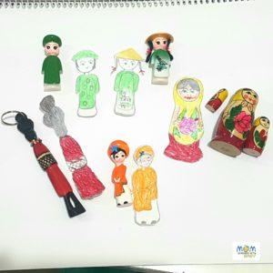 Multi-cultural Paper Dolls