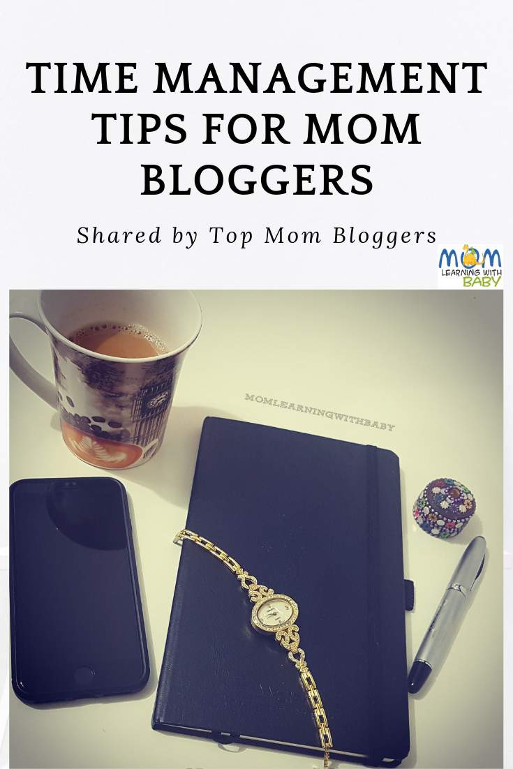 Time Management Tips for Mom Bloggers