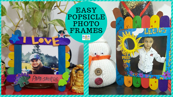 DIY Popsicle Photo Frames – Home Decor & Gift Idea