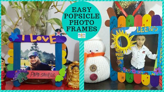 DIY Popsicle Photo Frames – Home Decor & Gift Idea