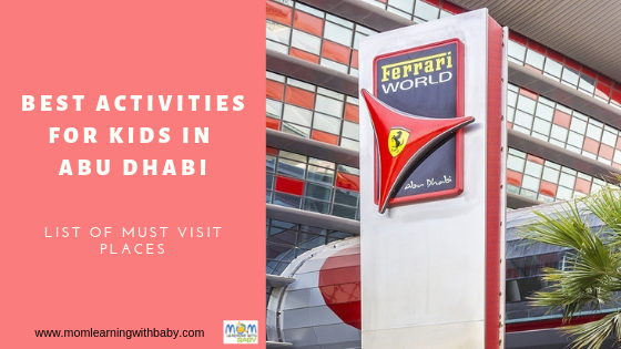 Best Activities for Kids in Abu Dhabi