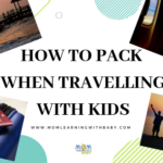 Packing Tips for travelling with kids