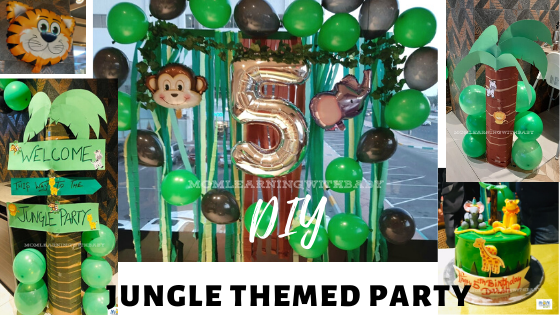 DIY Jungle Theme Party
