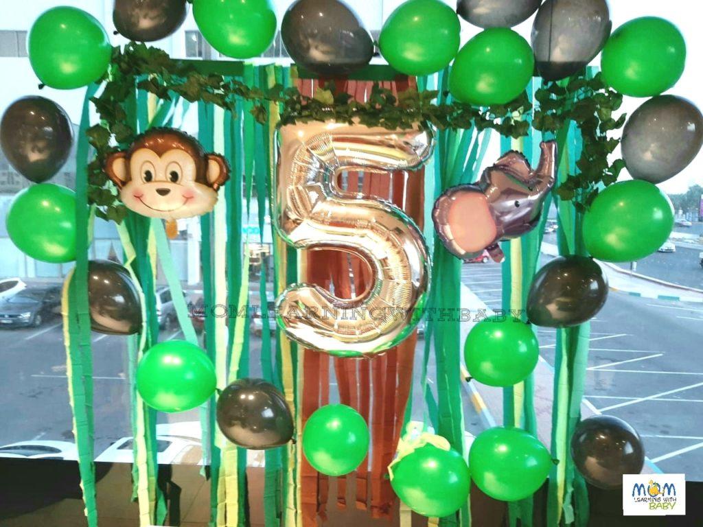 Jungle Party Decor