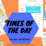 Times of the Day Printables