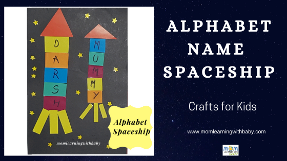 Alphabet NAme Spaceship