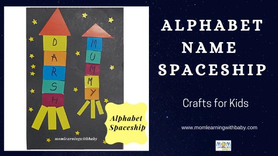 Alphabet NAme Spaceship