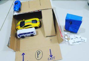 Cardboard Car Parking
