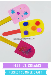 Icecream Craft - Popsicle Craft for Kids