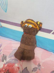 Towel a Teddy Bear