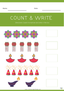 Diwali Activity sheets