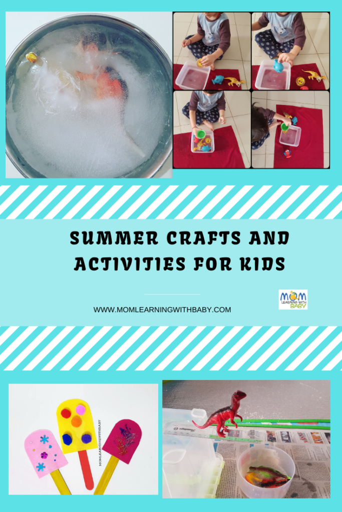 Summer Crafts and Activities for Kids