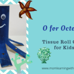 Tissue Roll Octopus Craft