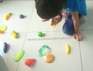 The Very Hungry Caterpillar Craft Activity