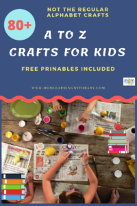 80+ A to Z Crafts for Kids PIN