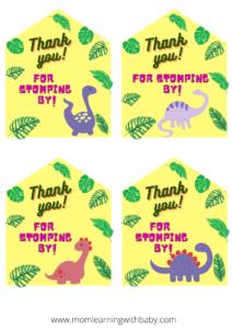 Dinosaur party printables (2)